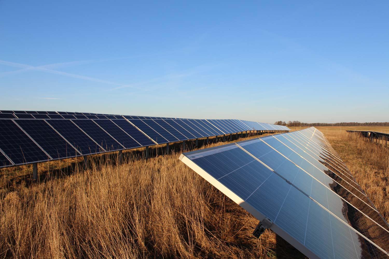 Parama saulės elektrinėms